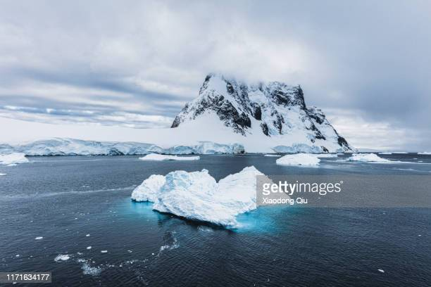 antarctica glacier - south pole stock pictures, royalty-free photos & images