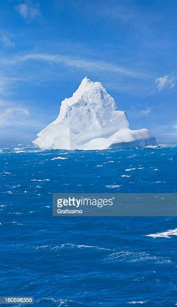 Antarctica iceberg floating