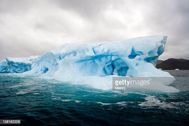 antarctica iceberg iii - south pole stock pictures, royalty-free photos & images