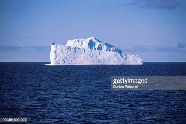 antarctica, iceberg in the weddell sea - weddell sea stock photos and pictures