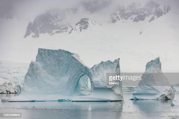Antarctica Iceberg Natural Arch Neumeyer Channel