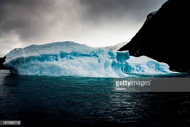 antarctica iceberg south pole - mlenny stock pictures, royalty-free photos & images