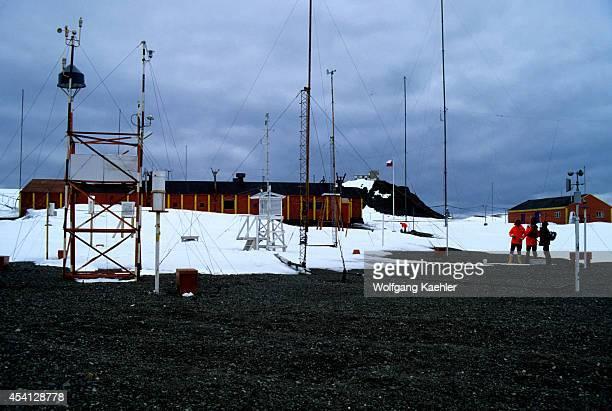 Antarctica, King George Island, Eduardo Frei Chilean Station.