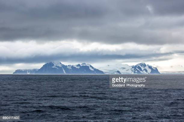 antarctica: livingstone island - drake passage stock photos and pictures