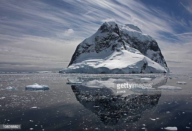 antarctica mountain lemaire channel - south pole stock pictures, royalty-free photos & images