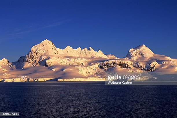 Antarctica Peninsula Area View Of Wiencke Island