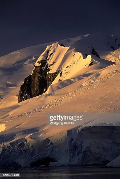 Antarctica Peninsula Area Wiencke Island Evening Light