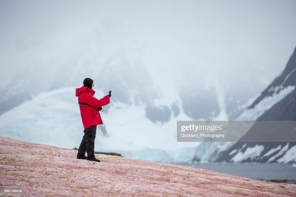 Antarctica: Petermann Island : Stock Photo