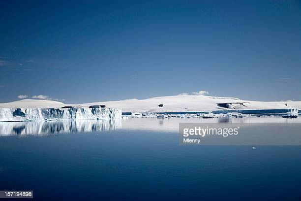 antarctica polar landscape - mlenny stock pictures, royalty-free photos & images