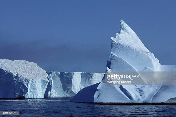 Antarctica, South Orkney Islands, Icebergs.