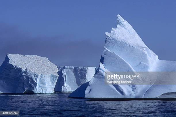 Antarctica, South Orkney Islands, Icebergs.