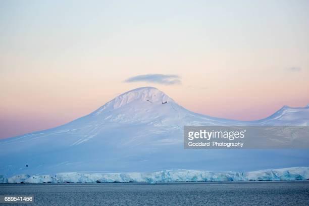 Antarctica: Sunrise over Wiencke Island
