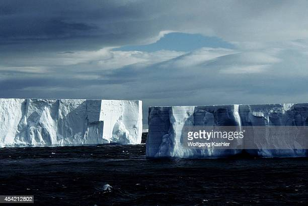Antarctica Tabular Icebergs
