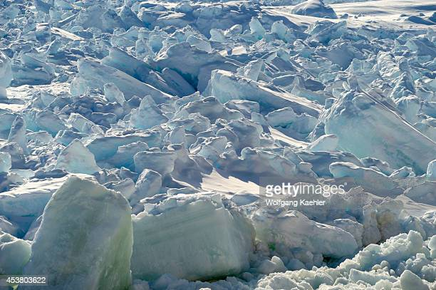 Antarctica Weddell Sea Ridged Sea Ice