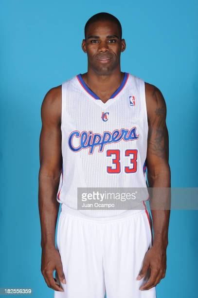 Antawn Jamison of the Los Angeles Clippers poses for a picture during media day at the Clippers Training Center on September 30 2013 in Playa Vista...