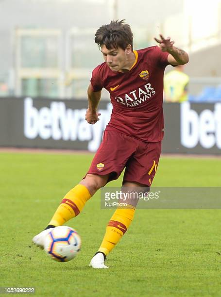 Ante Coric during the Italian Serie A football match between AS Roma and Spal at the Olympic Stadium in Rome on october 20 2018
