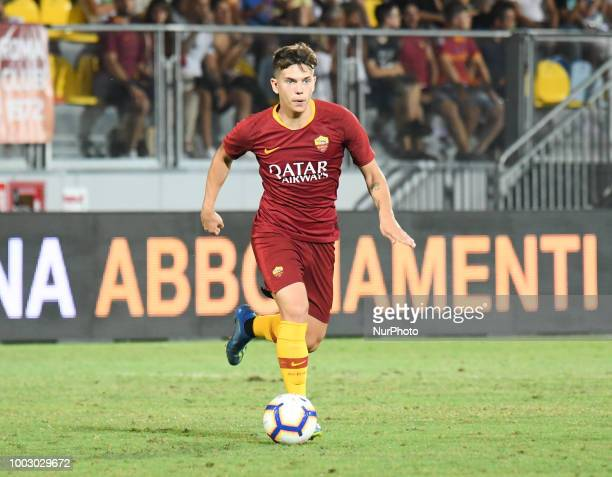 Ante Coric during the PreSeason Friendly match between AS Roma and Avellino at Stadio Benito Stirpe on July 20 2018 in Frosinone Italy