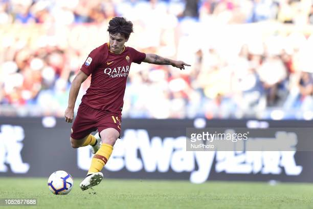 Ante Coric of AS Roma during the Serie A match between Roma and SPAL at Stadio Olimpico Rome Italy on 20 October 2018