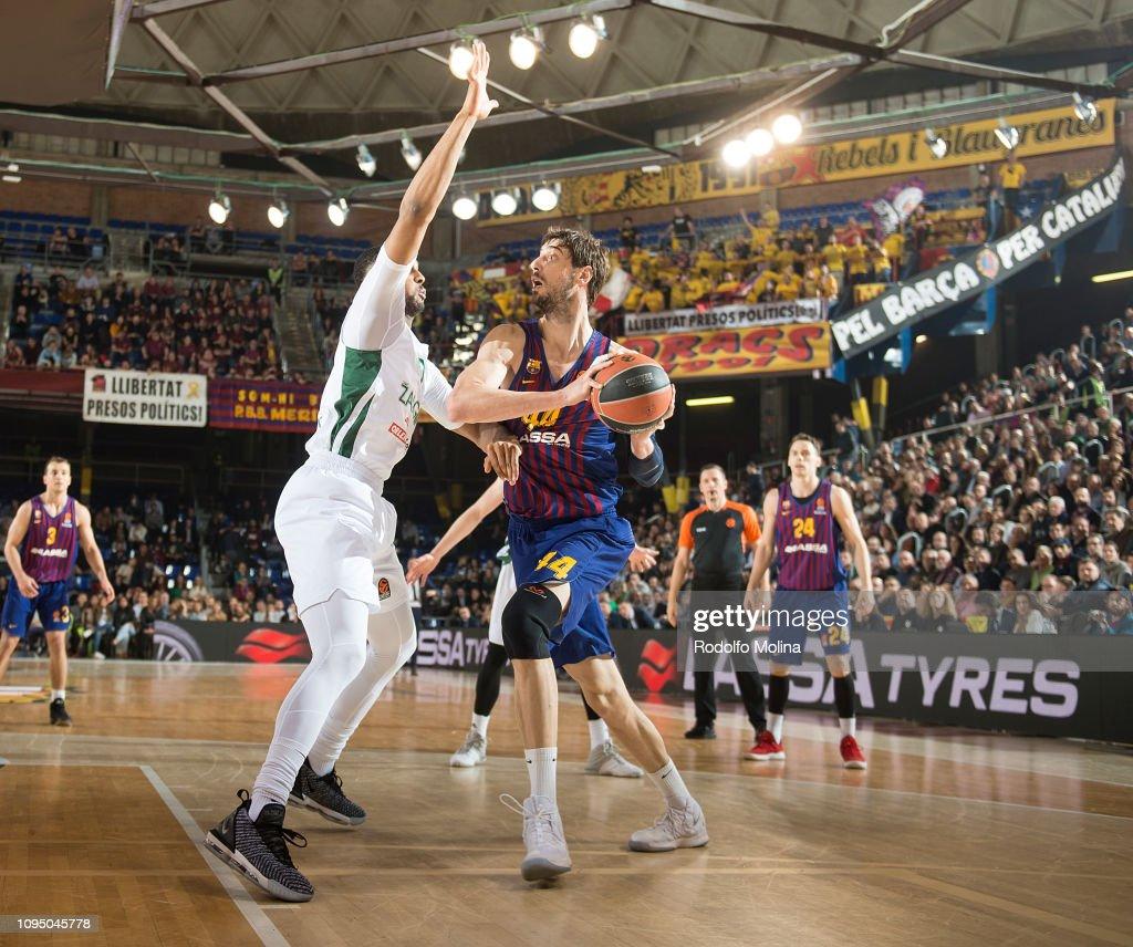 FC Barcelona Lassa v Zalgiris Kaunas - Turkish Airlines EuroLeague : News Photo