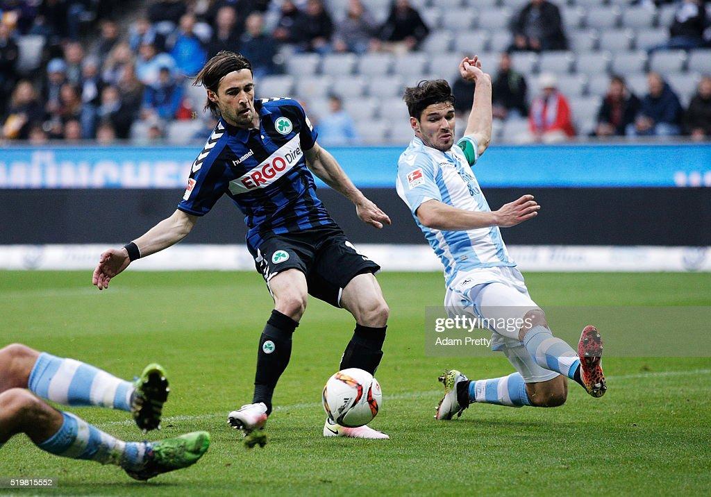 1860 Muenchen v Greuther Fuerth  -  2. Bundesliga
