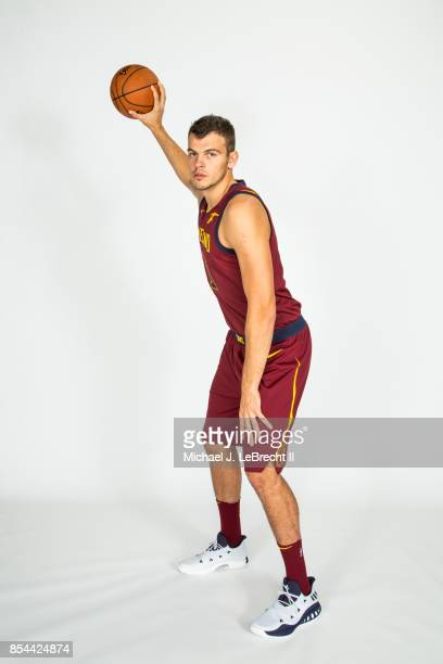 Ante Zizic of the Cleveland Cavaliers poses for a portrait during the 201718 NBA Media Day on September 25 2017 at Quicken Loans Arena in Cleveland...