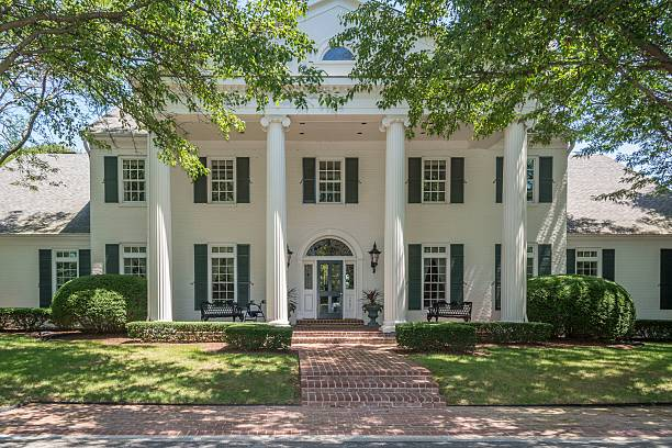 Antebellum neoclassical style american home in kentucky pictures