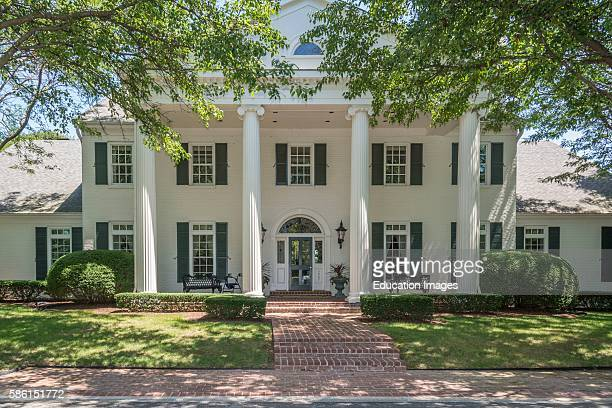 Antebellum neoclassical style American home in Kentucky