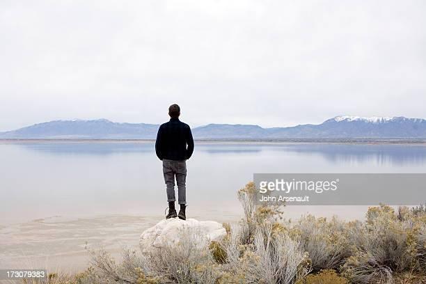 Antelope Island, Utah Male, portrait