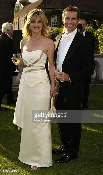 Anthea Turner and Grant Bovey during The 8th Annual White Tie and Tiara Ball to Benefit the Elton John AIDS Foundation in Association with Chopard...