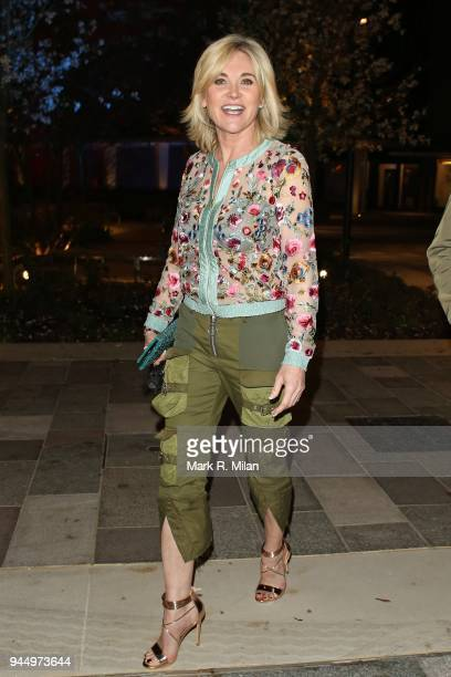 Anthea Turner at the launch night of Soho House Television Centre on April 11 2018 in London England