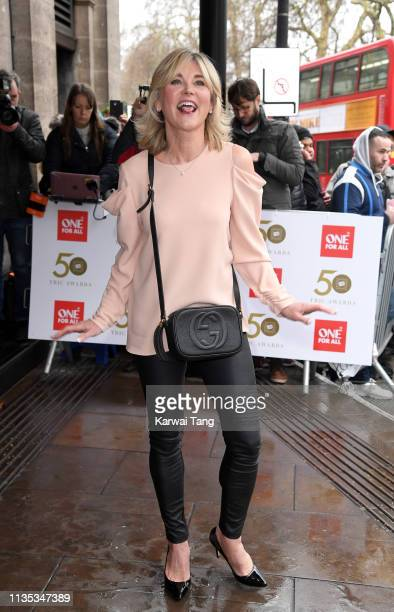 Anthea Turner attends the 2019 'TRIC Awards' held at The Grosvenor House Hotel on March 12, 2019 in London, England.