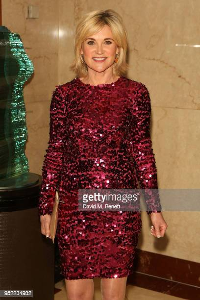 Anthea Turner attends The 8th Annual Asian Awards at The London Hilton on April 27 2018 in London England