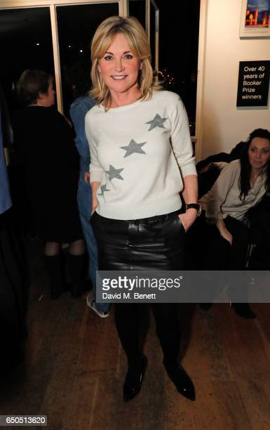 Anthea Turner attends the launch of Kate Garraway's new book The Joy Of Big Knickers at Waterstones Piccadilly on March 9 2017 in London England