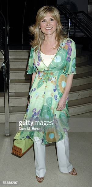 Anthea Turner attends the launch party for the new Monday Lottery, called 'Monday,' which supports 70 different charities, at Titanic on May 8, 2006...
