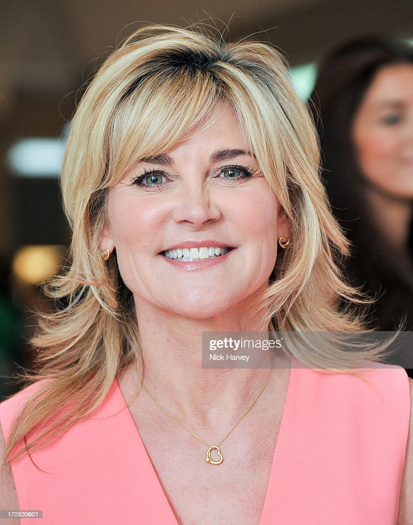 Anthea Turner attends the Masterpiece Midsummer Party in aid of Marie Curie at The Royal Hospital Chelsea on July 2, 2013 in London, England.