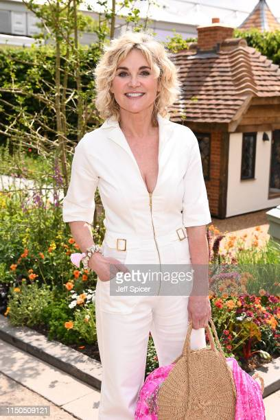 Anthea Turner attends the RHS Chelsea Flower Show 2019 press day at Chelsea Flower Show on May 20 2019 in London England