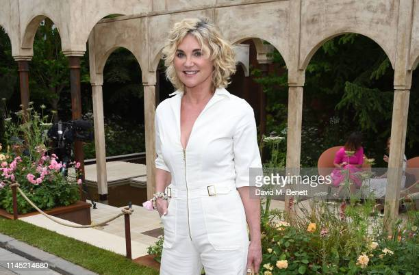 Anthea Turner attends the RHS Chelsea Flower Show 2019 press day on May 20 2019 in London England
