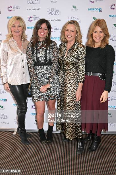 Anthea Turner Deborah James Liz Earle and Harriet Scott attend Turn The Tables 2019 hosted by Tania Bryer and James Landale in aid of Cancer Research...