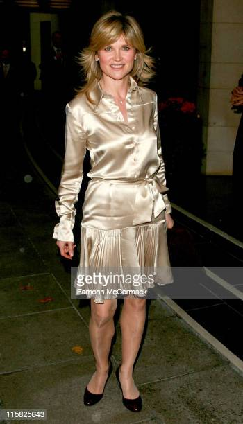 Anthea Turner during Closer Young Heroes Awards Ceremony Arrivals at The Dorchester in London Great Britain