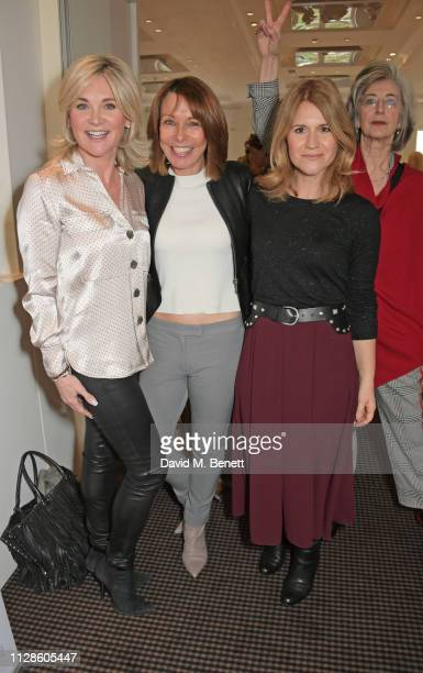 Anthea Turner Kay Burley Harriet Scott and Maureen Lipman attend Turn The Tables 2019 hosted by Tania Bryer and James Landale in aid of Cancer...