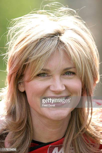 Anthea Turner The Celebrity team is running in aid of MBT and Oasis UK Helping Children Step Into A Better Future