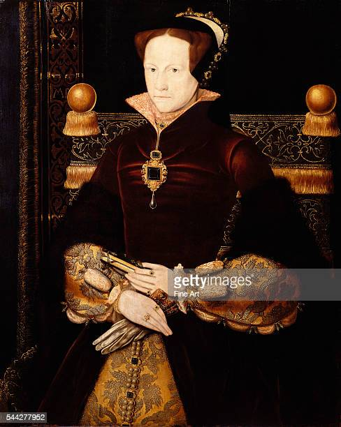 Anthonis Mor Portrait of Queen Mary I c 1554 oil on panel Royal Collection London