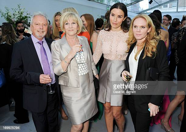Anthony Adams Jackie Adams Tana Ramsay and Louise Adams arrive at the Glamour Women of the Year Awards in association with Pandora at Berkeley Square...