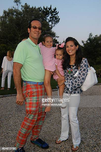 Anthony Addison Carolina Addison Christina Addison and Anabelle Addison attend The Annual American Picnic To Benefit The SOUTHAMPTON FRESH AIR HOME...