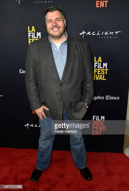 Anthony Ambrosino attends the 2018 LA Film Festival Opening Night Premiere Of 'Echo In The Canyon' at John Anson Ford Amphitheatre on September 20...