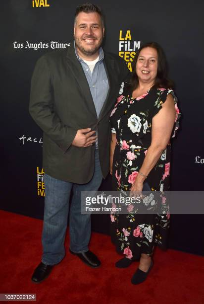 Anthony Ambrosino Dorothy Ambrosino attends the 2018 LA Film Festival Opening Night Premiere Of 'Echo In The Canyon' at John Anson Ford Amphitheatre...