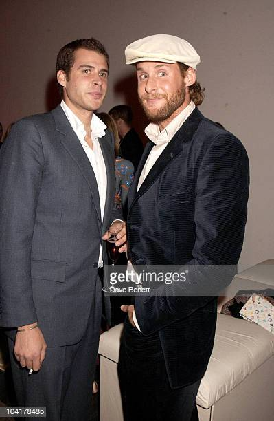 Anthony And David De Rothschild The First Night And Party Of Ôthe Lady From The Sea' At The Almeida Theatre London