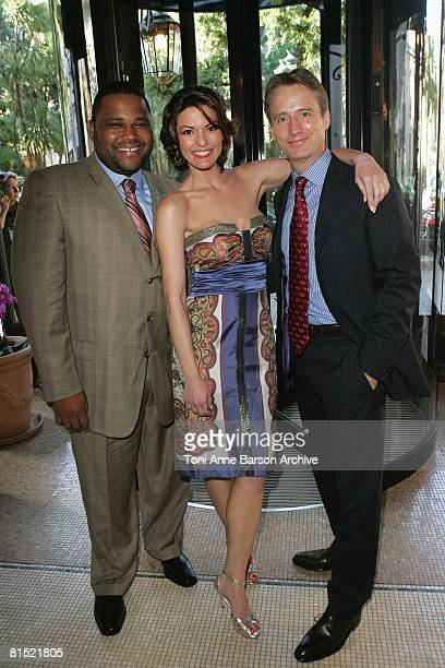 Anthony Anderson Alana de la Garza and Linus Roache attend the 2008 Monte Carlo Television Festival view at The Hermitage Hotel on June 10 2008 in...