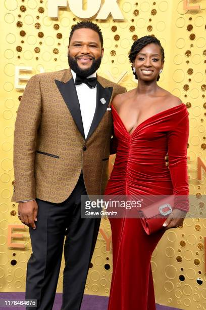Anthony Anderson and Alvina Stewart attend the 71st Emmy Awards at Microsoft Theater on September 22 2019 in Los Angeles California