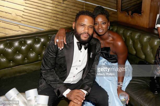 Anthony Anderson and Alvina Stewart attendCelebrating the Culture Powered by Samsung Galaxy at Avenue on September 17 2018 in Los Angeles California